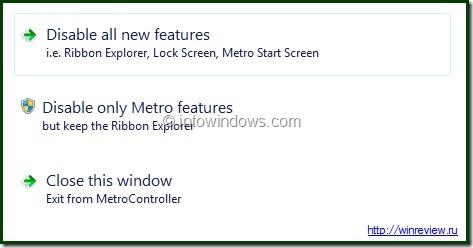 Disable Windows 8 Metro
