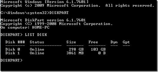 Install Windows 8 From USB Step2