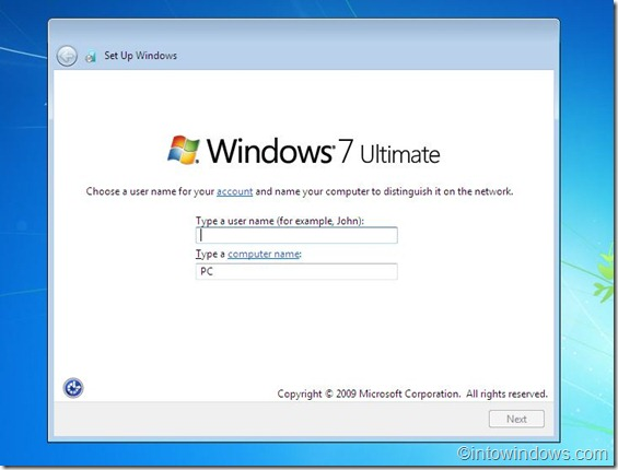 reinstalar windows 7 step10