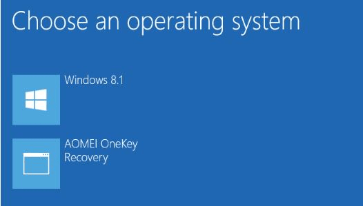 AOMEI OneKey Recovery Free Download 5