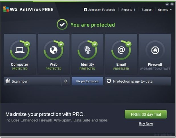 AVG 2015 free edition free download