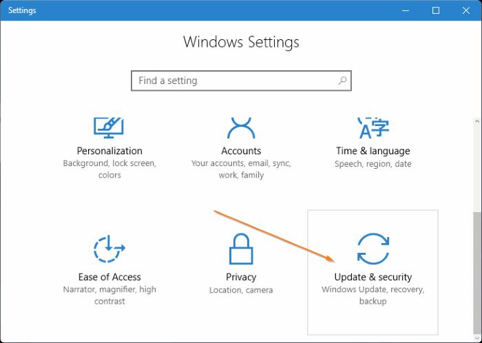 Acceso a la configuración de UEFI en Windows 10 step2
