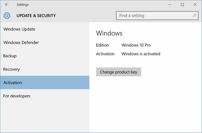 Activar Windows 10 con Windows 7, 8, 8.1 clave de producto