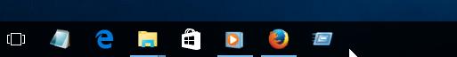 Agregar comando Ejecutar a la barra de tareas en Windows 10 pic5
