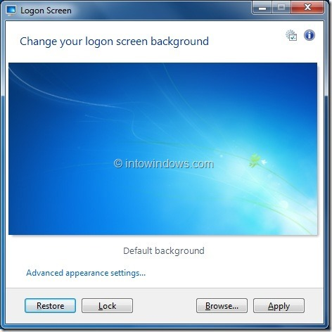 Add Set As Logon Screen Background To Context Menu