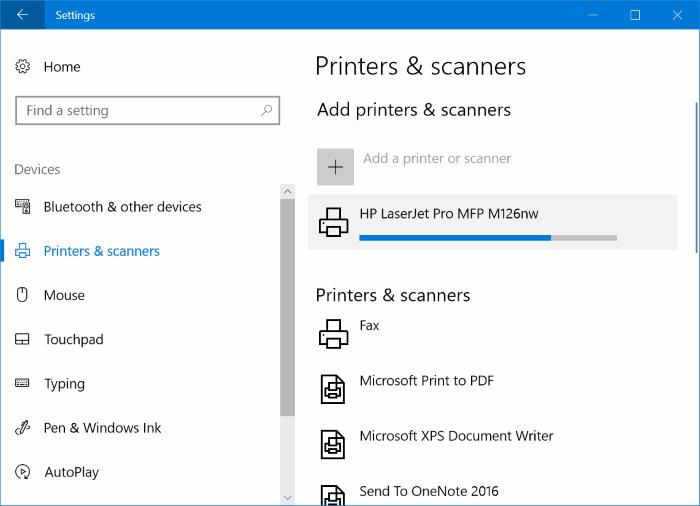 Añadir impresora inalámbrica a Windows 10 PC (5)