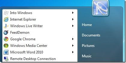 Añadir sitios web al menú de inicio utilizando Internet Explorer 9