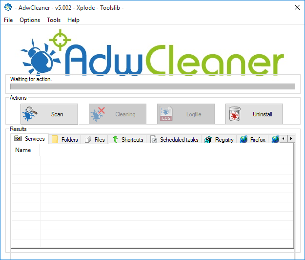 AdwCleaner para Windows 10