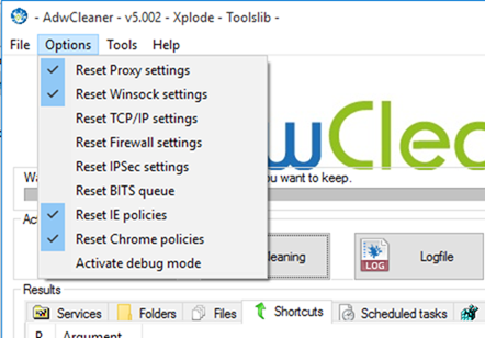 AdwCleaner free for Windows 10