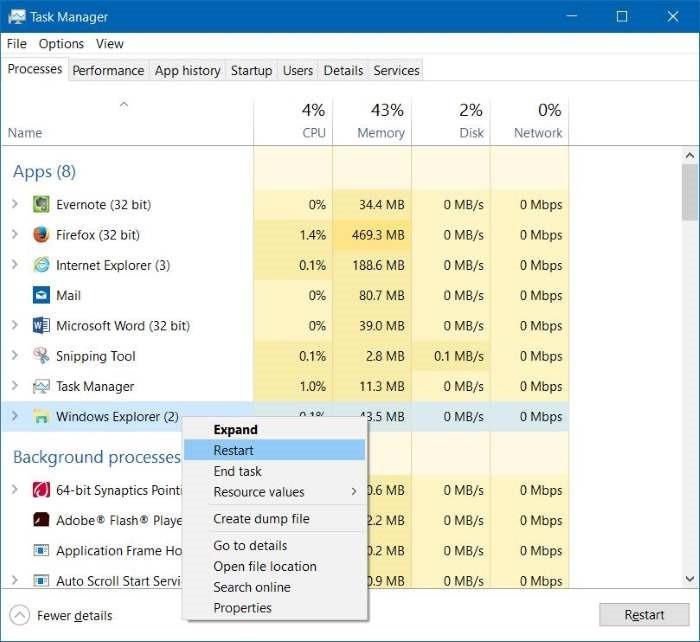 El modo avión no se desactiva en Windows 10 step7