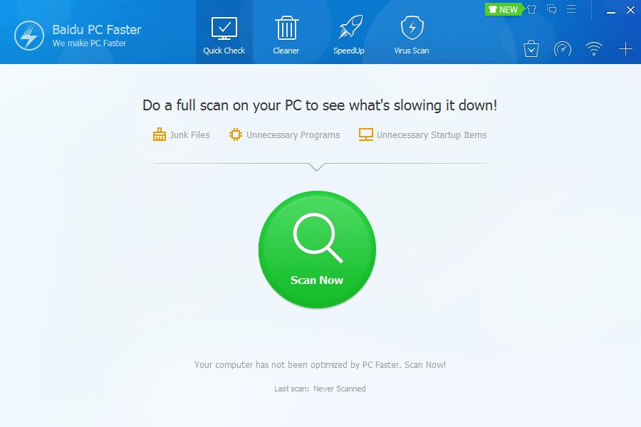 Baidu PC Faster1