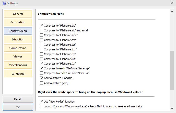 BandiZip free for Windows 10