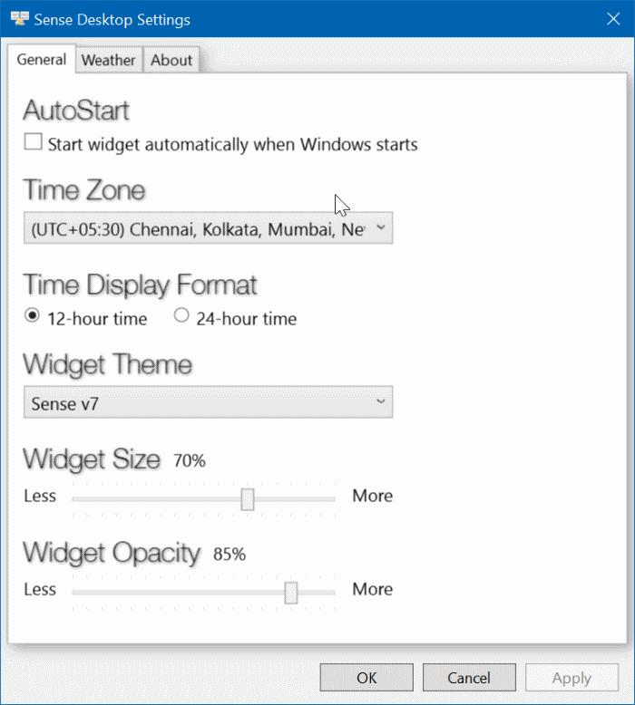 Mejor reloj de escritorio para Windows 10 (1)