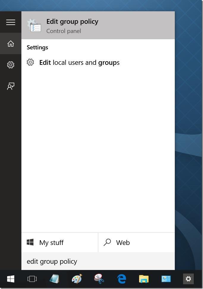 Bloquear o desactivar la cuenta de Microsoft en Windows 10 pic1