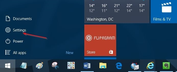 Falta icono Bluetooth en el paso 1 de la bandeja del sistema Windows 10