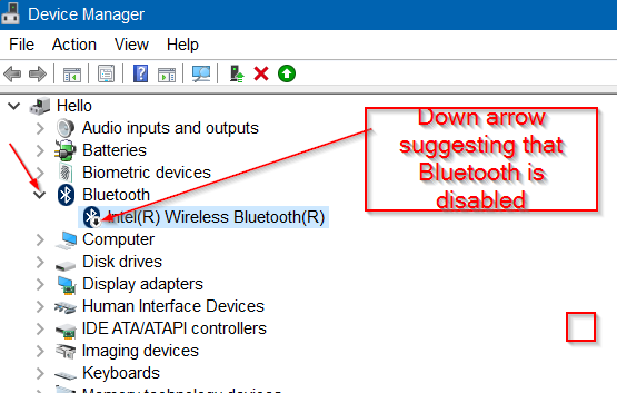 Falta Bluetooth en la configuración de Windows 10 image4
