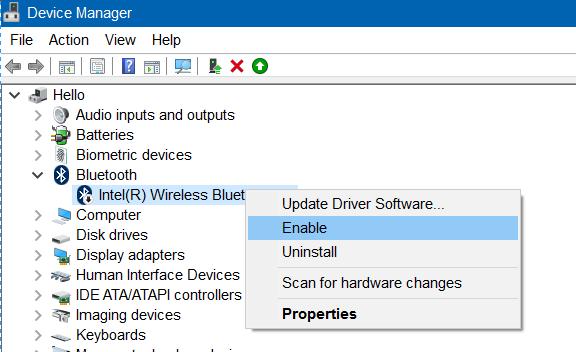 Falta Bluetooth en la configuración de Windows 10 image5