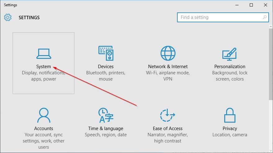 Cambiar navegador predeterminado en Windows 10 step2