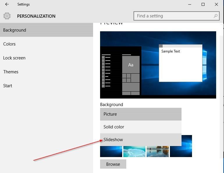 Cambiar fondo de escritorio Windows 10 step5