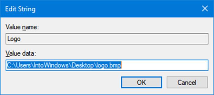 Cambiar el logotipo y la información del fabricante en Windows 10 pic3