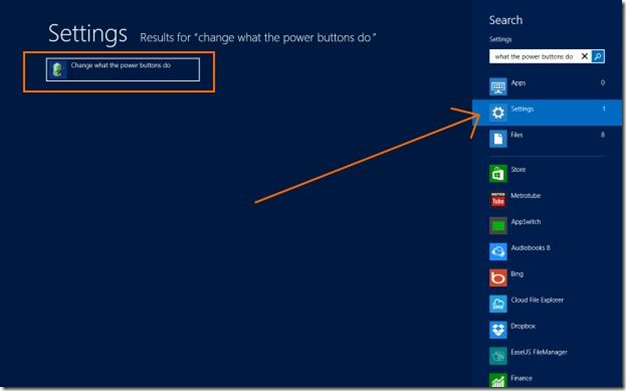 Change Power Button Action in Windows
