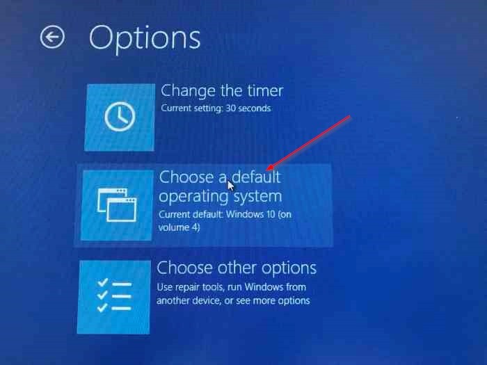 Cambiar el orden de inicio en Windows 10 (2)