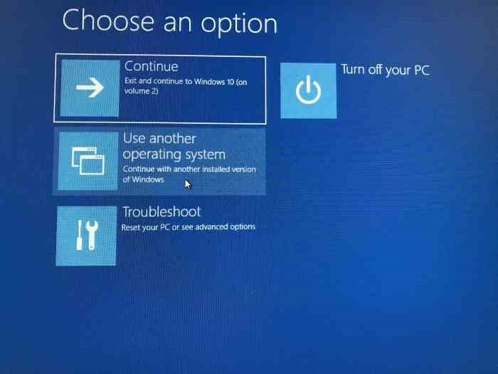 Cambiar el orden de inicio en Windows 10 (8)
