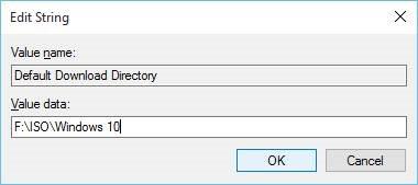 Cambiar la ubicación de descarga predeterminada en el paso 5 de Microsoft Edge