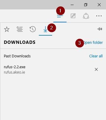 Cambiar la ubicación de descarga predeterminada en Microsoft Edge step6