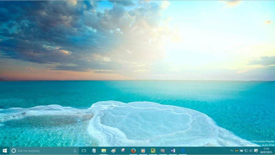 Cambiar fondo de escritorio Windows 10