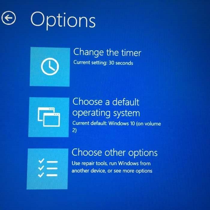 Cambiar el sistema operativo predeterminado Windows 10 pic1 (3)