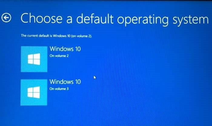 Cambiar el sistema operativo predeterminado Windows 10 pic1 (4)