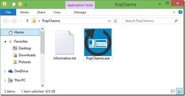 Barra de Charms en Windows 10 picture3