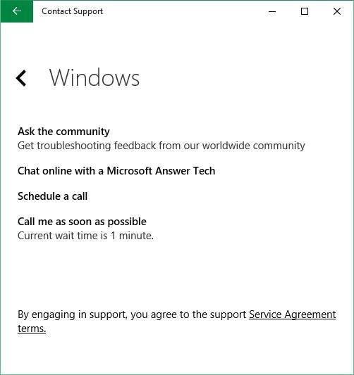 Chat con soporte para Microsoft Windows 10 picture4