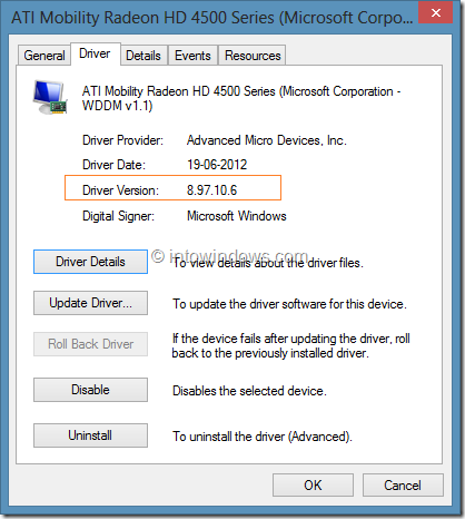 Check Driver Version In Windows Step5