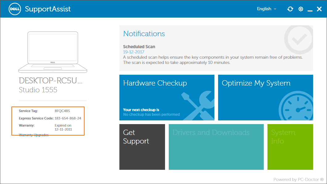 Check dell laptop warranty status online pic3