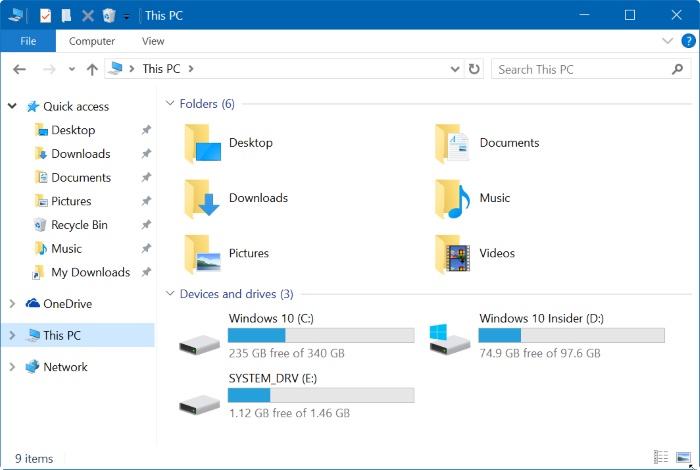 Clear file explorer history in Windows 10 pic1
