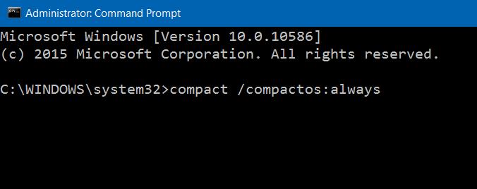 Comprimir archivos y carpetas de instalación de Windows 10 step3