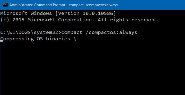 Comprimir archivos y carpetas de instalación de Windows 10 step4