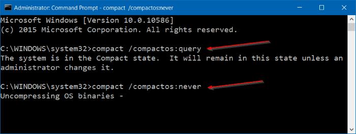 Comprimir archivos y carpetas de instalación de Windows 10 step5