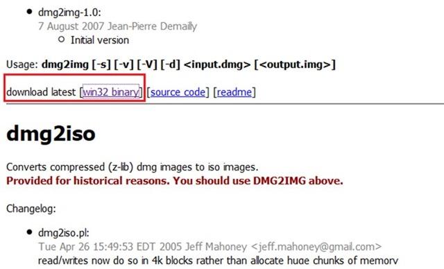 Convertir DMG a ISO en Windows step01