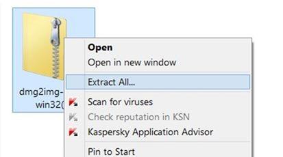 Convertir DMG a ISO en Windows step1