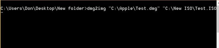 Convertir DMG a ISO en Windows step3