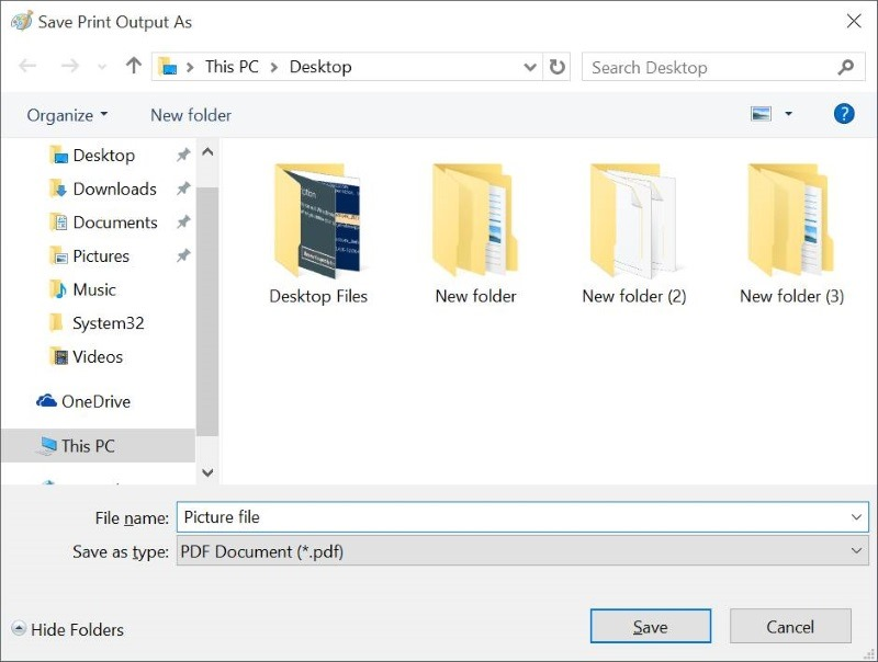 Convertir documentos a PDF en Windows 10 sin Third Pary Tools pic4