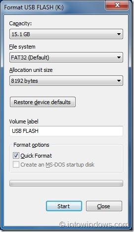 Crear unidad flash USB de inicio con el paso EasyBCD