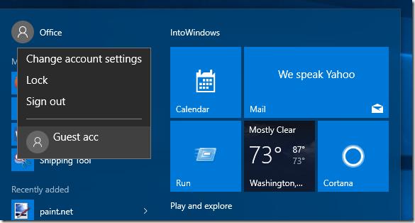 Crear cuenta de usuario invitado en Windows 10 step6