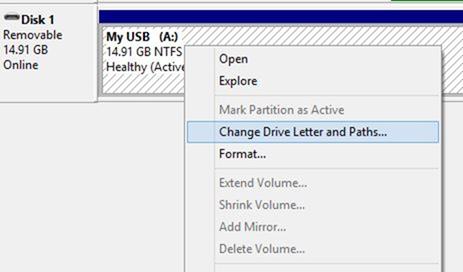 Crear acceso directo de teclado para abrir una unidad USB en Windows step2