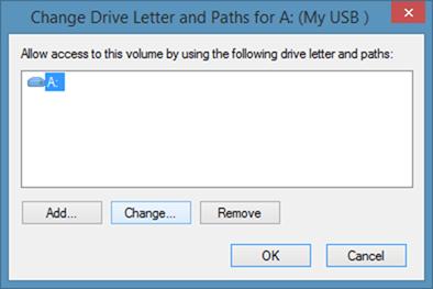 Crear acceso directo de teclado para abrir una unidad USB en Windows step3