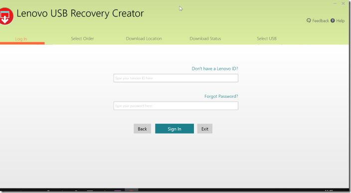 Create Lenovo Recovery USB pic08.1