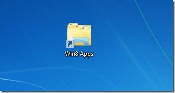 Create Metro Apps Shortcut On Desktop In Windows 8 Step5